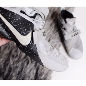 Nike Lebron Soldier 9 Wolf Grey White Black 12.5